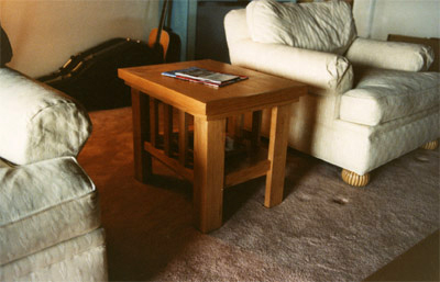Endtable With Double Reveal