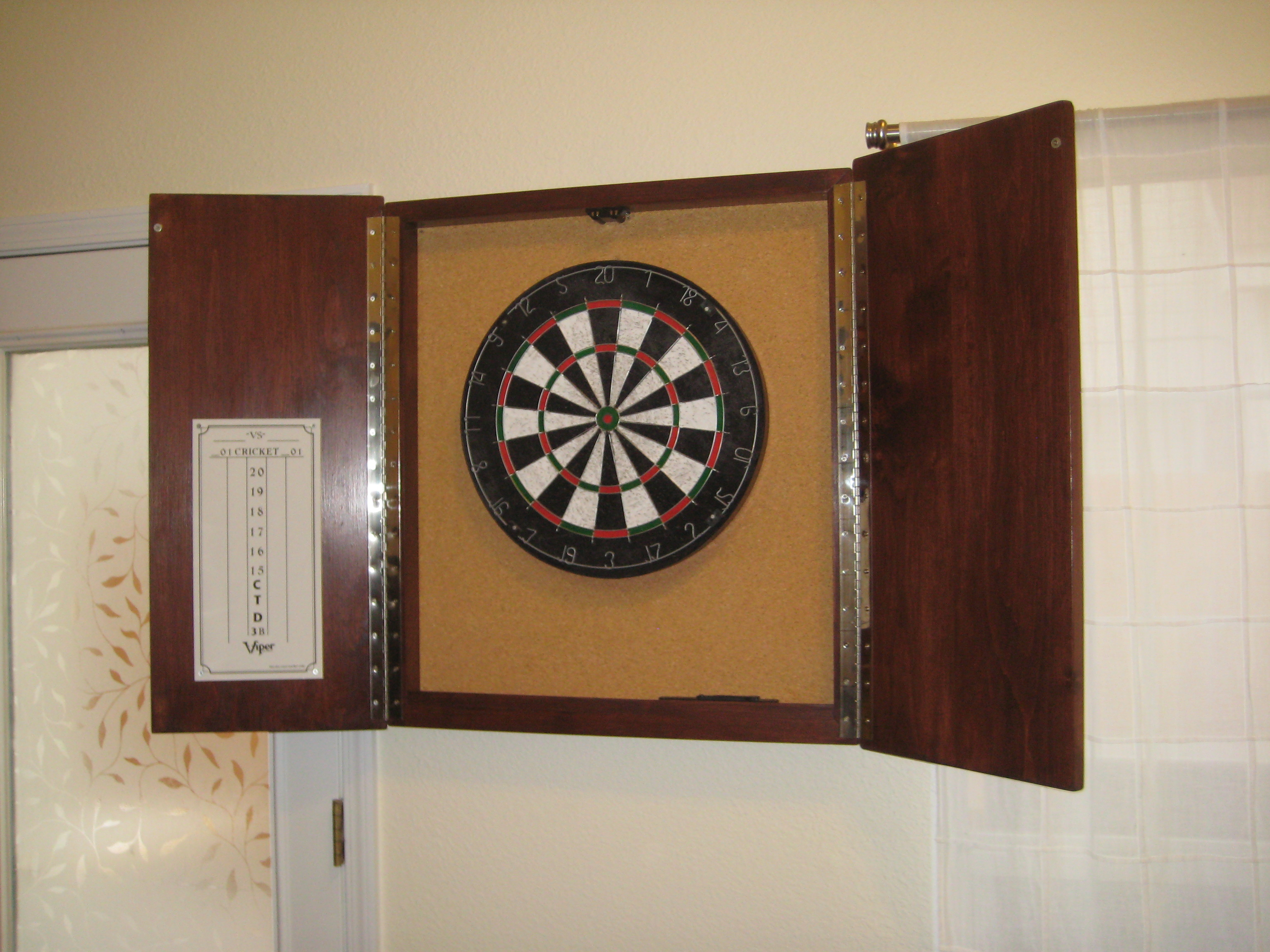 open dartboard