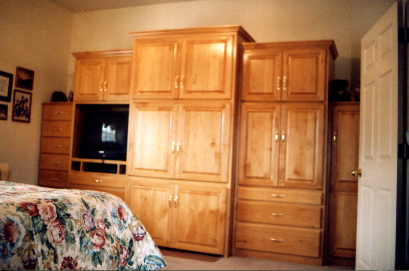 Alder bedroom set